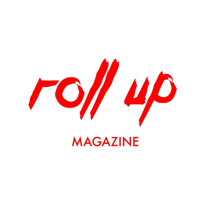 ROLL UP RED LOGO mini Men's T-Shirt by ROLL UP MAGAZINE