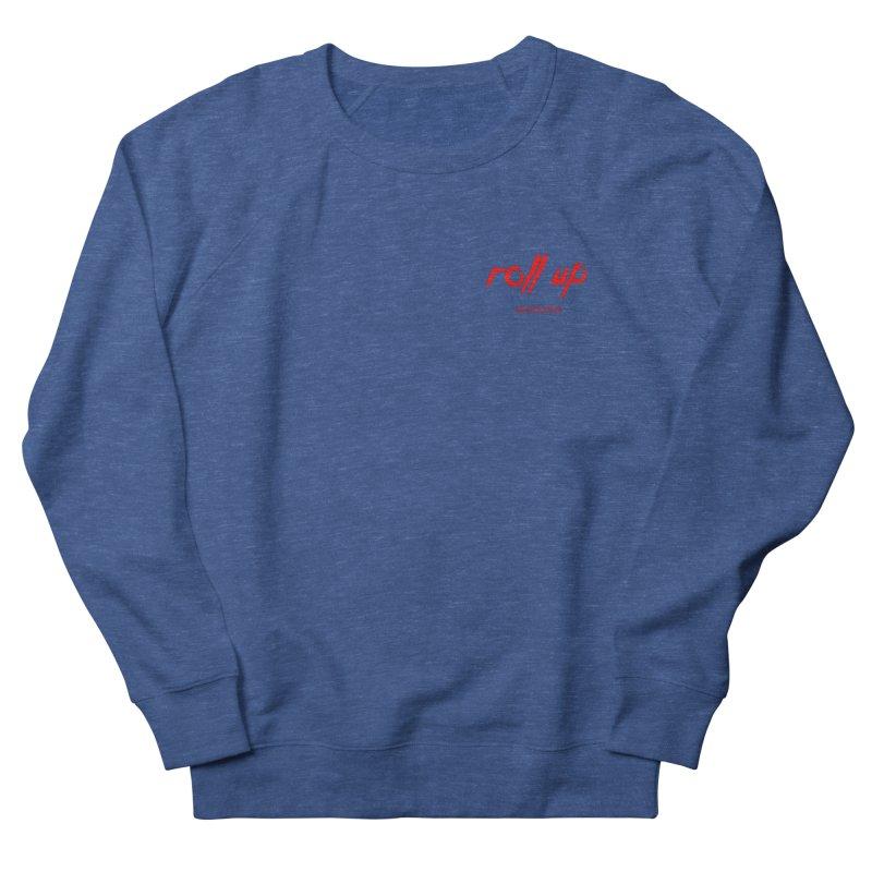 ROLL UP RED LOGO mini Men's Sweatshirt by ROLL UP MAGAZINE