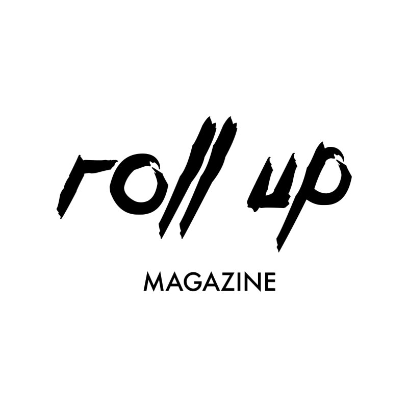 ROLL UP BLACK LOGO Accessories Sticker by ROLL UP MAGAZINE
