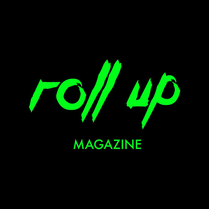 ROLL UP GREEN LOGO Men's Sweatshirt by ROLL UP MAGAZINE