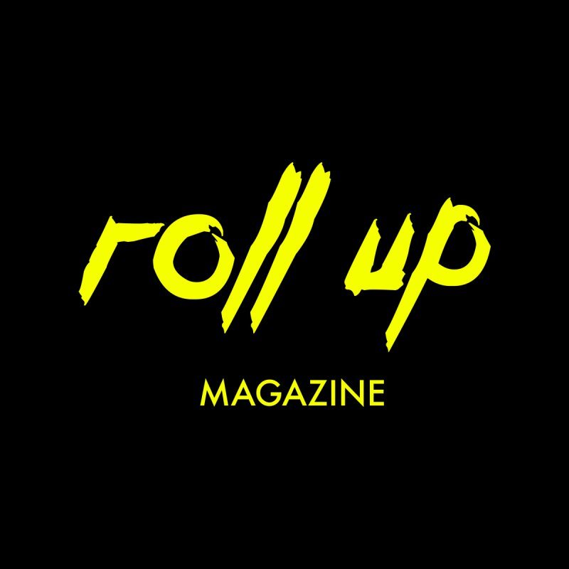 ROLL UP YELLOW LOGO Men's Tank by ROLL UP MAGAZINE