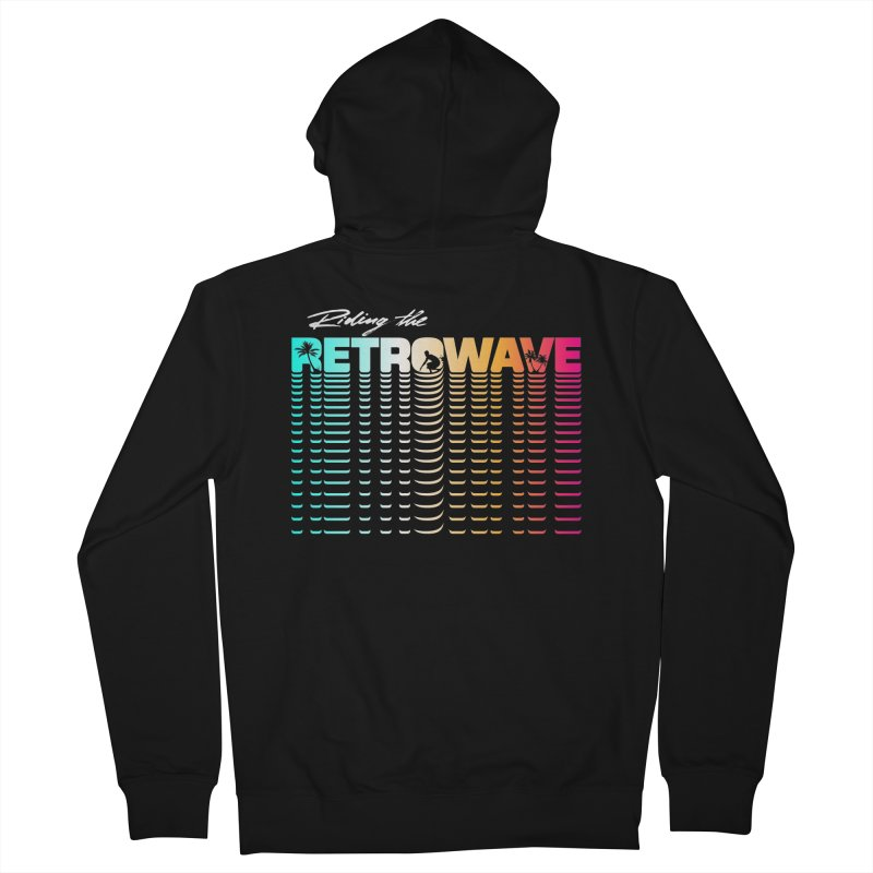 Riding the Retrowave   by Rolly Rocket - Retro Futuristic Art