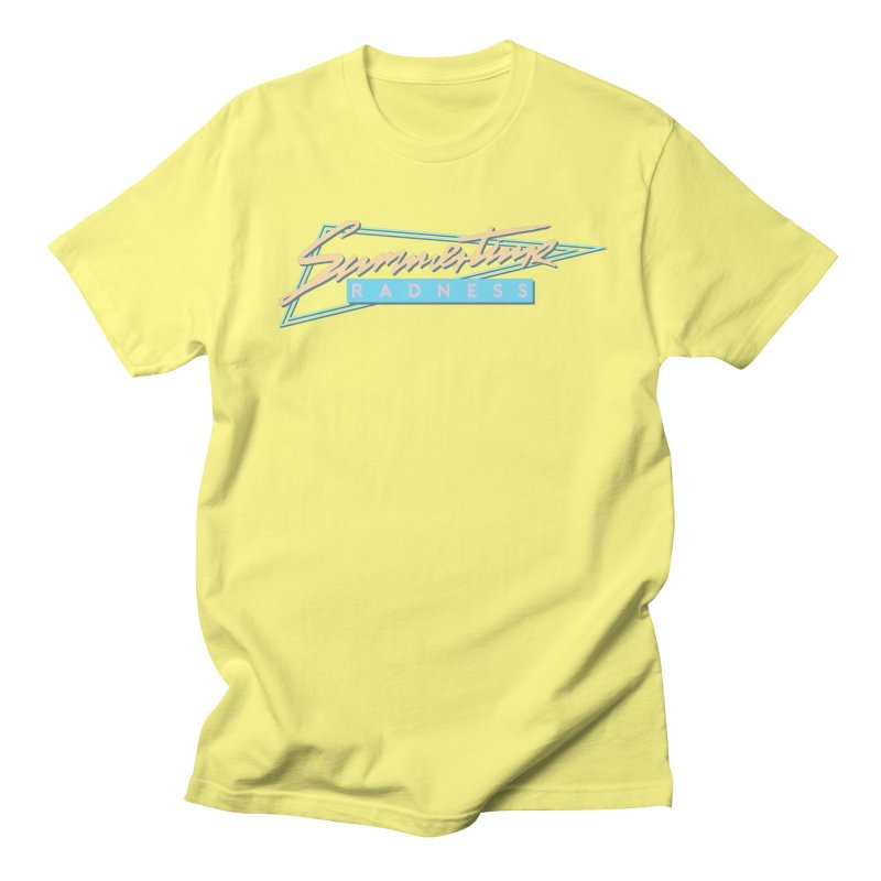 Summertime Radness Women's T-Shirt by Rolly Rocket - Retro Futuristic Art
