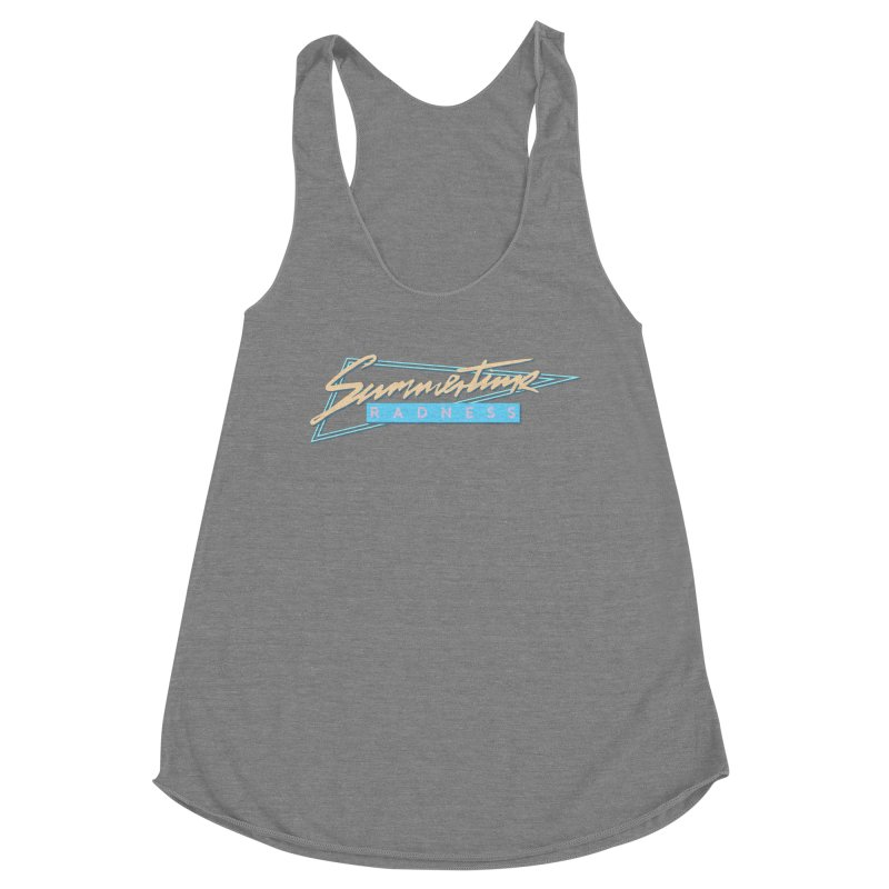 Summertime Radness Women's Tank by Rolly Rocket - Retro Futuristic Art