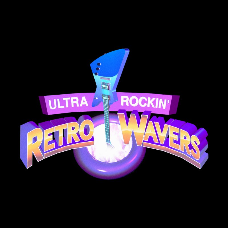 Retro Wavers by Rolly Rocket - Retro Futuristic Art