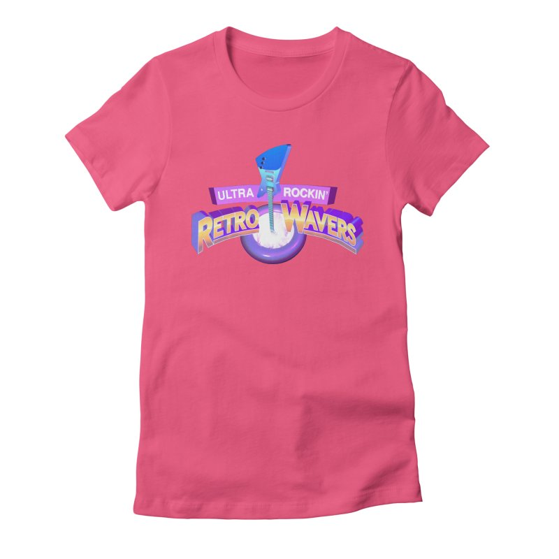 Retro Wavers Women's T-Shirt by Rolly Rocket - Retro Futuristic Art