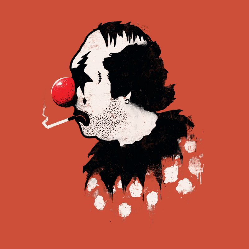 Clown Hates Carnival   by ronanlynam's Artist Shop