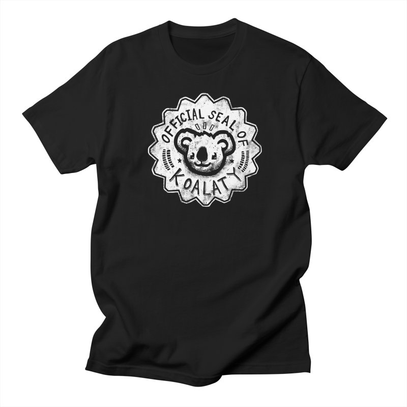Koalaty Men's T-shirt by ronanlynam's Artist Shop