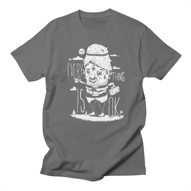 Optimism Men's T-shirt by ronanlynam's Artist Shop
