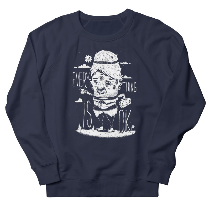 Optimism Men's Sweatshirt by ronanlynam's Artist Shop