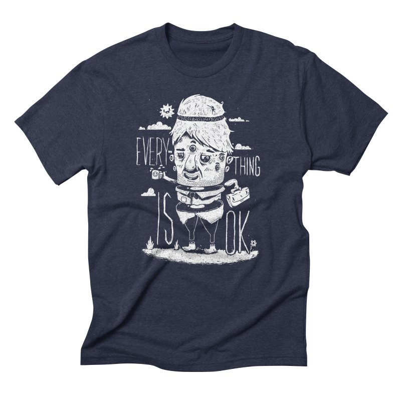 Optimism Men's Triblend T-shirt by ronanlynam's Artist Shop