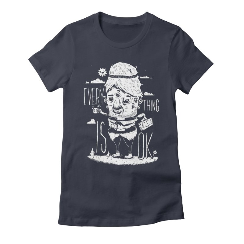 Optimism Women's Fitted T-Shirt by ronanlynam's Artist Shop