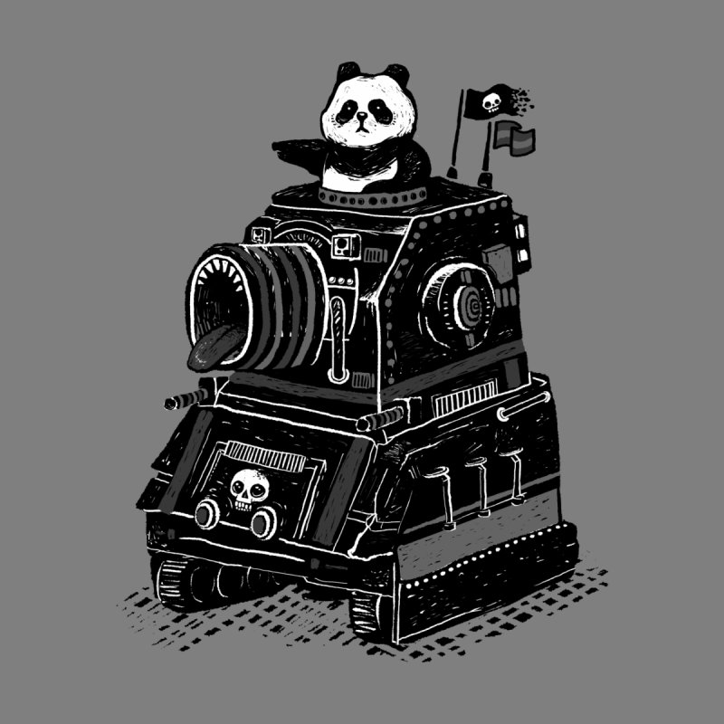 Panda's Terrible Tank of Terror None  by ronanlynam's Artist Shop