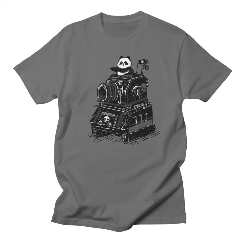 Panda's Terrible Tank of Terror Men's T-shirt by ronanlynam's Artist Shop