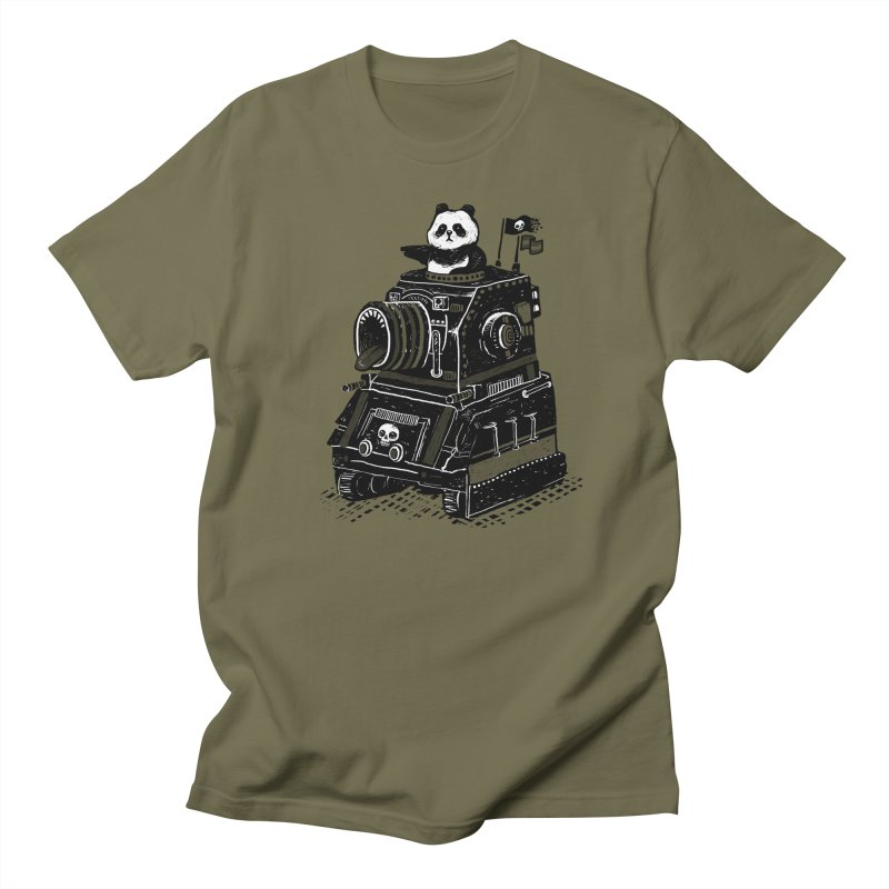 Panda's Terrible Tank of Terror Men's T-Shirt by ronanlynam's Artist Shop