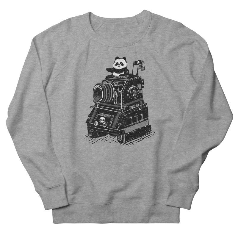 Panda's Terrible Tank of Terror Men's Sweatshirt by ronanlynam's Artist Shop