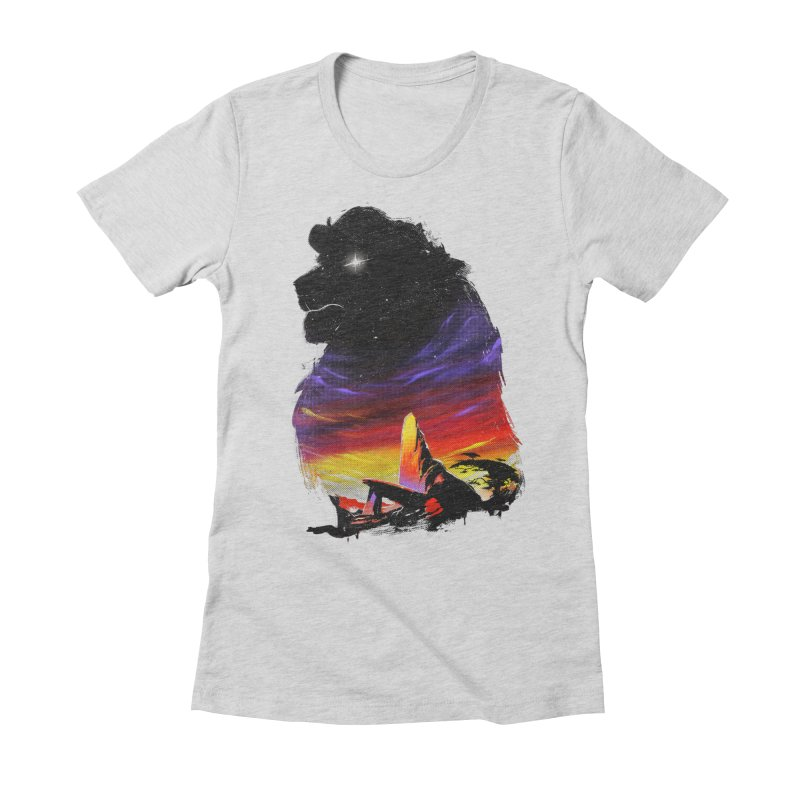 The Pride Women's Fitted T-Shirt by ronanlynam's Artist Shop