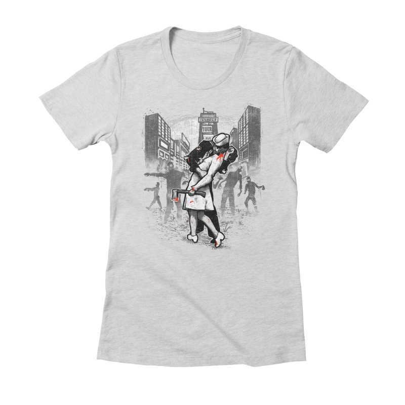 Z Day Women's Fitted T-Shirt by ronanlynam's Artist Shop