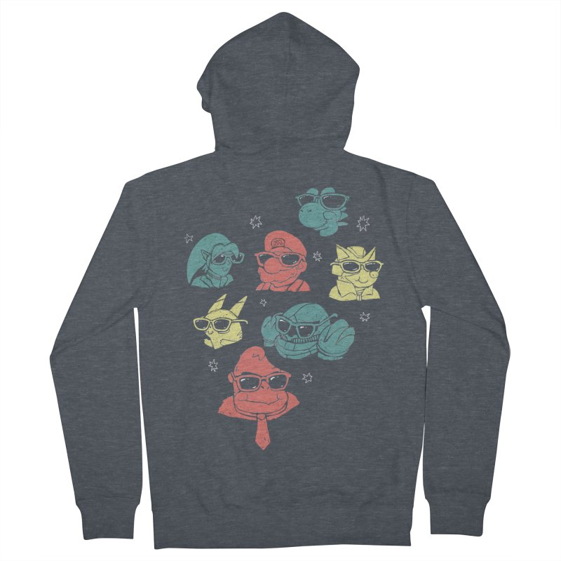 Super Style Bros. Men's Zip-Up Hoody by ronanlynam's Artist Shop