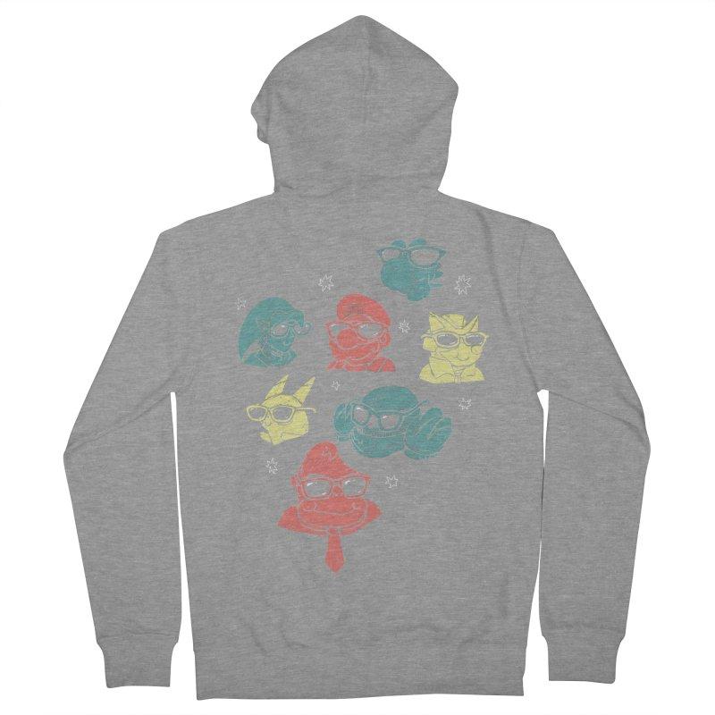 Super Style Bros. Men's Zip-Up Hoody by ronanlynam's Artist Shop