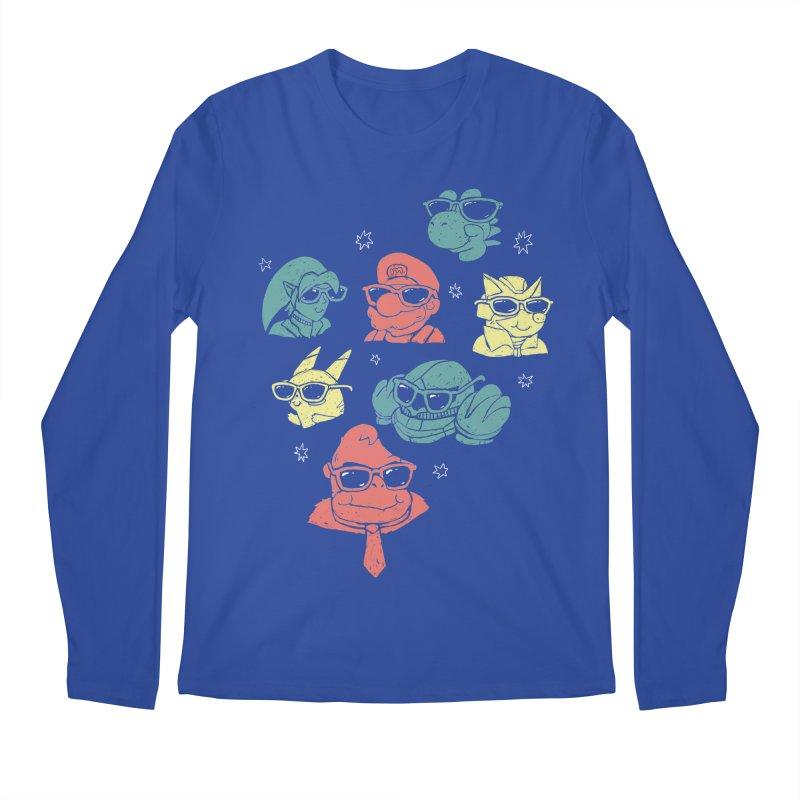 Super Style Bros. Men's Longsleeve T-Shirt by ronanlynam's Artist Shop
