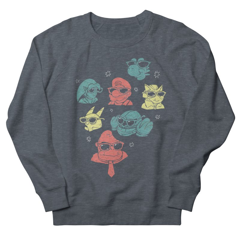 Super Style Bros. Men's Sweatshirt by ronanlynam's Artist Shop