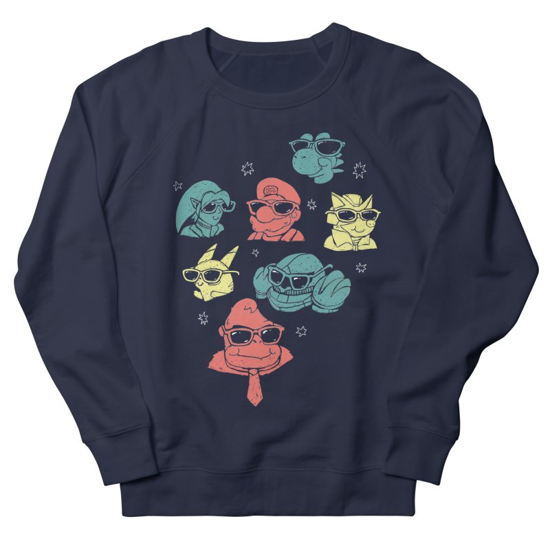 Super Style Bros. Men's Sweatshirt by ronanlynam's Artist Shop