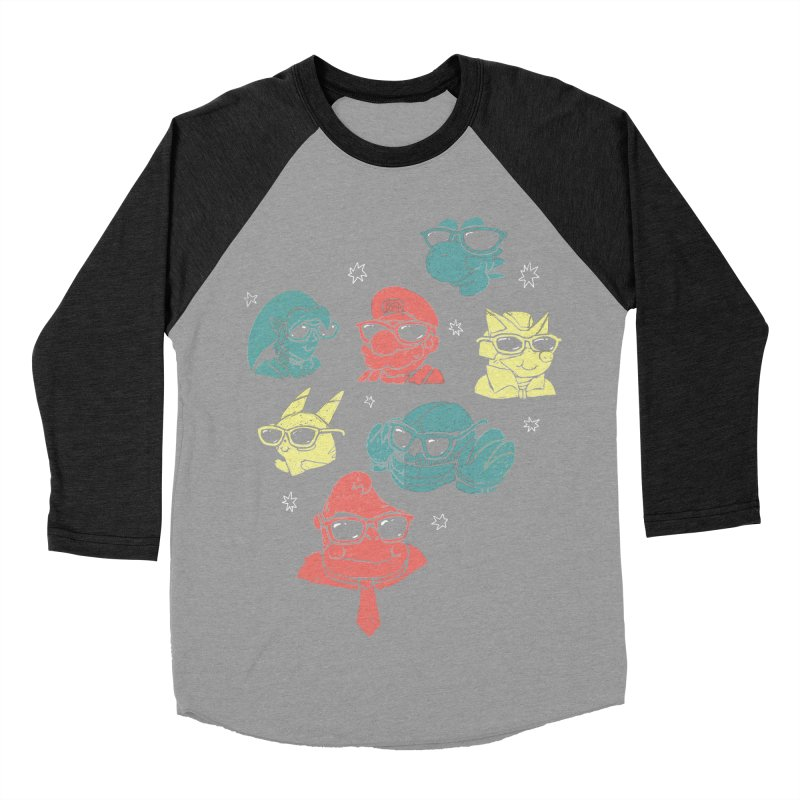 Super Style Bros. Women's Baseball Triblend T-Shirt by ronanlynam's Artist Shop
