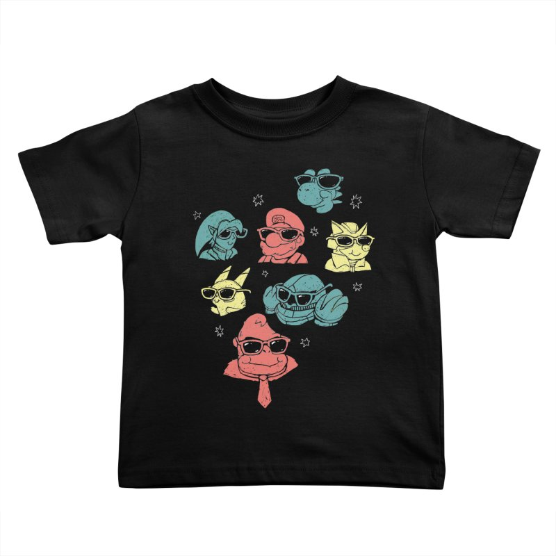 Super Style Bros. Kids Toddler T-Shirt by ronanlynam's Artist Shop