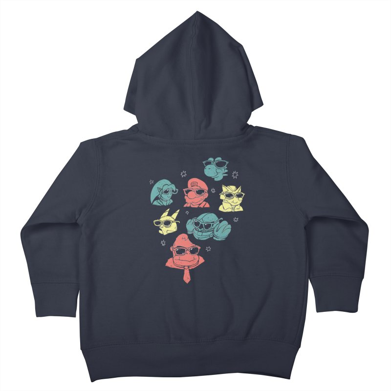 Super Style Bros. Kids Toddler Zip-Up Hoody by ronanlynam's Artist Shop