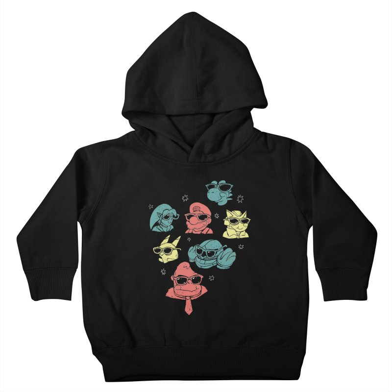 Super Style Bros. Kids Toddler Pullover Hoody by ronanlynam's Artist Shop