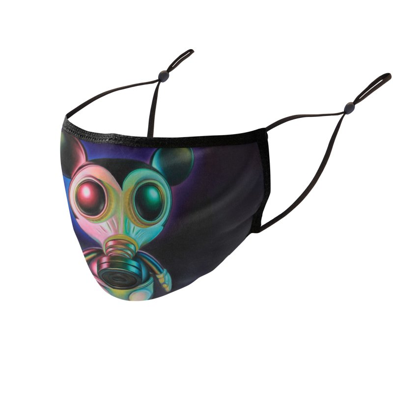 Mouse Mask Murphy Accessories Face Mask by Ron English