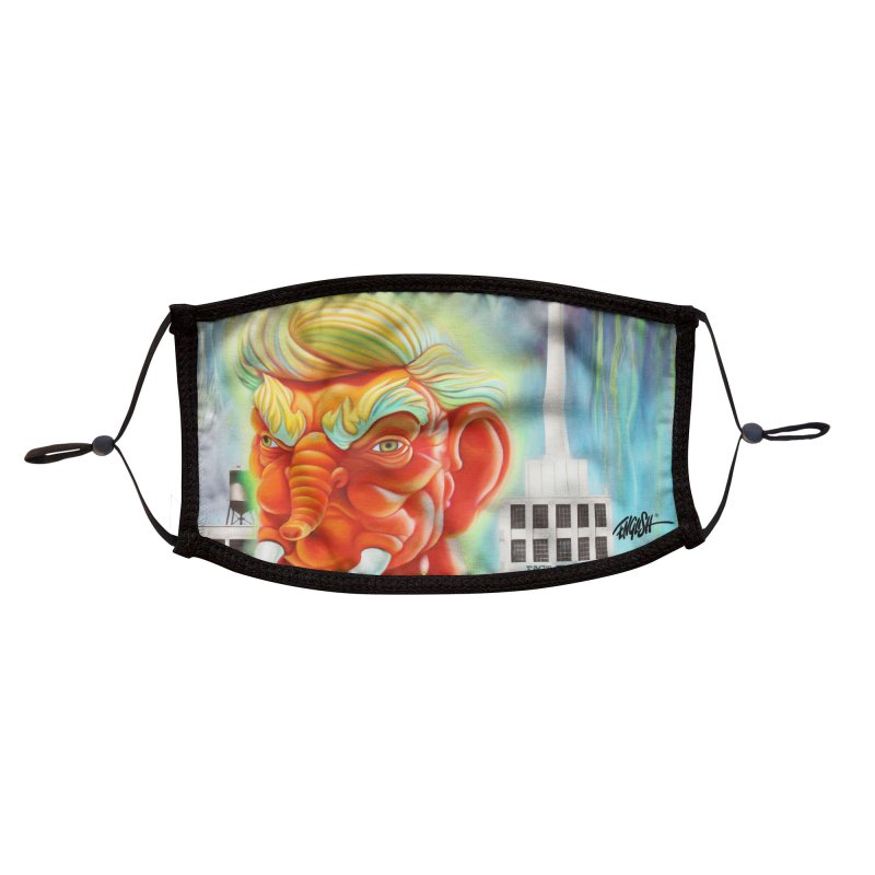 Trunk Accessories Face Mask by Ron English
