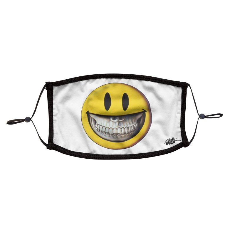 Grin Accessories Face Mask by Ron English