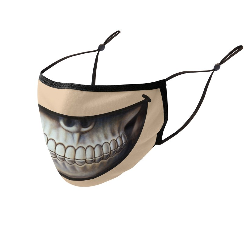 Grin 4 Accessories Face Mask by Ron English