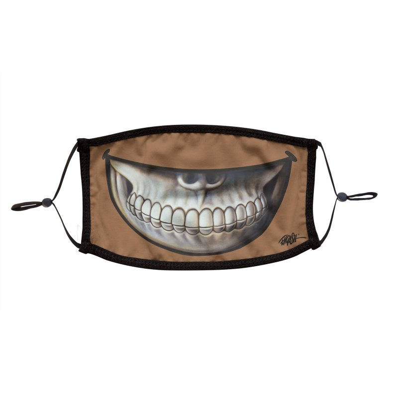 Grin 6 Accessories Face Mask by Ron English