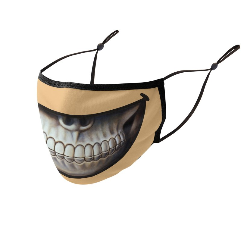 Grin 7 Accessories Face Mask by Ron English