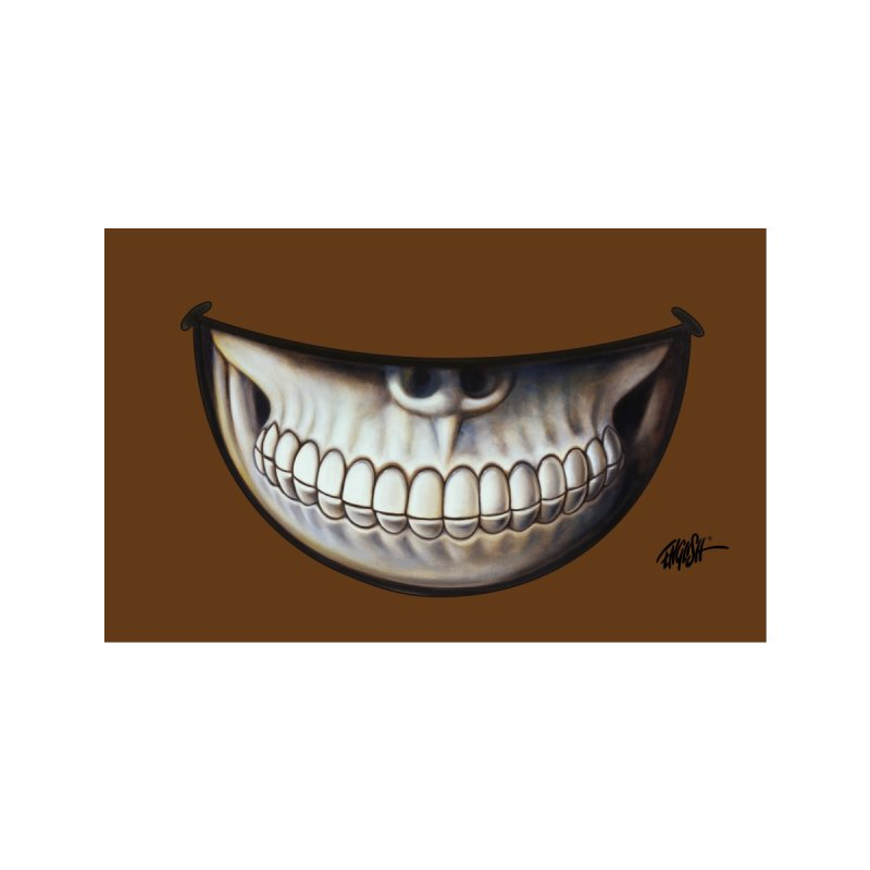 Grin 8 Accessories Face Mask by Ron English