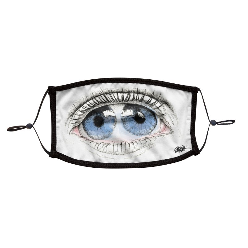 Eyes Accessories Face Mask by Ron English