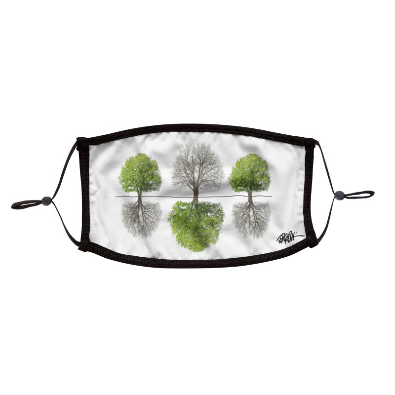 Ascension Accessories Face Mask by Ron English