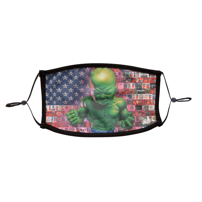 All American Temper Tot Accessories Face Mask by Ron English