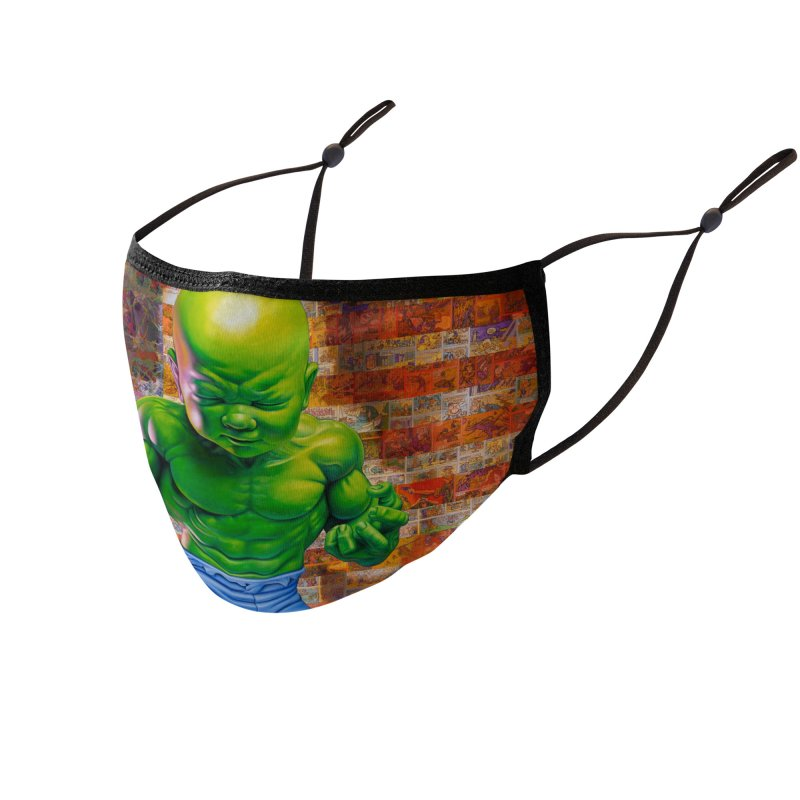 The American Infantile Accessories Face Mask by Ron English
