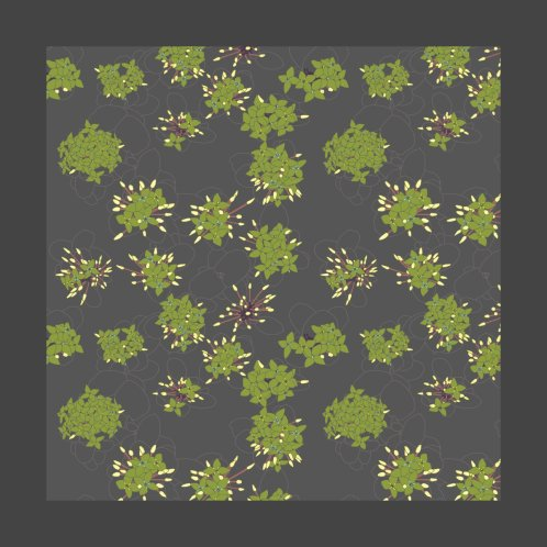 Design for Camouflage Jasmine Flowers