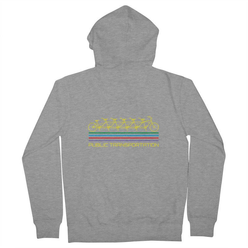 Publik trans Men's French Terry Zip-Up Hoody by ronnyroom's Artist Shop