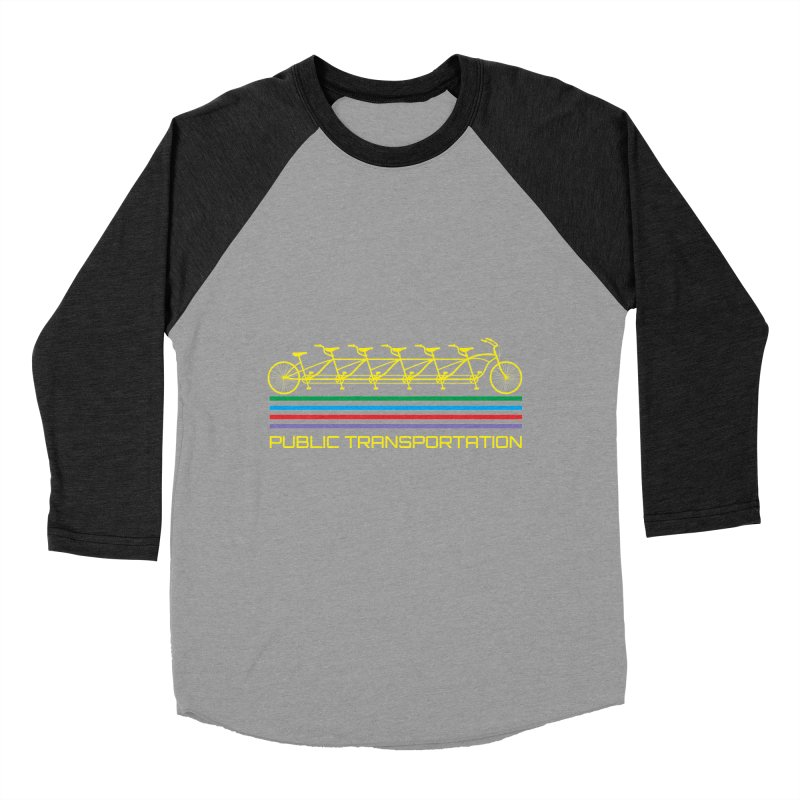 Publik trans Men's Baseball Triblend T-Shirt by ronnyroom's Artist Shop