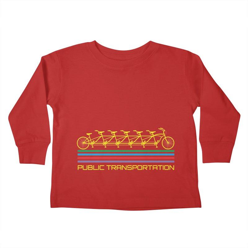 Publik trans Kids Toddler Longsleeve T-Shirt by ronnyroom's Artist Shop