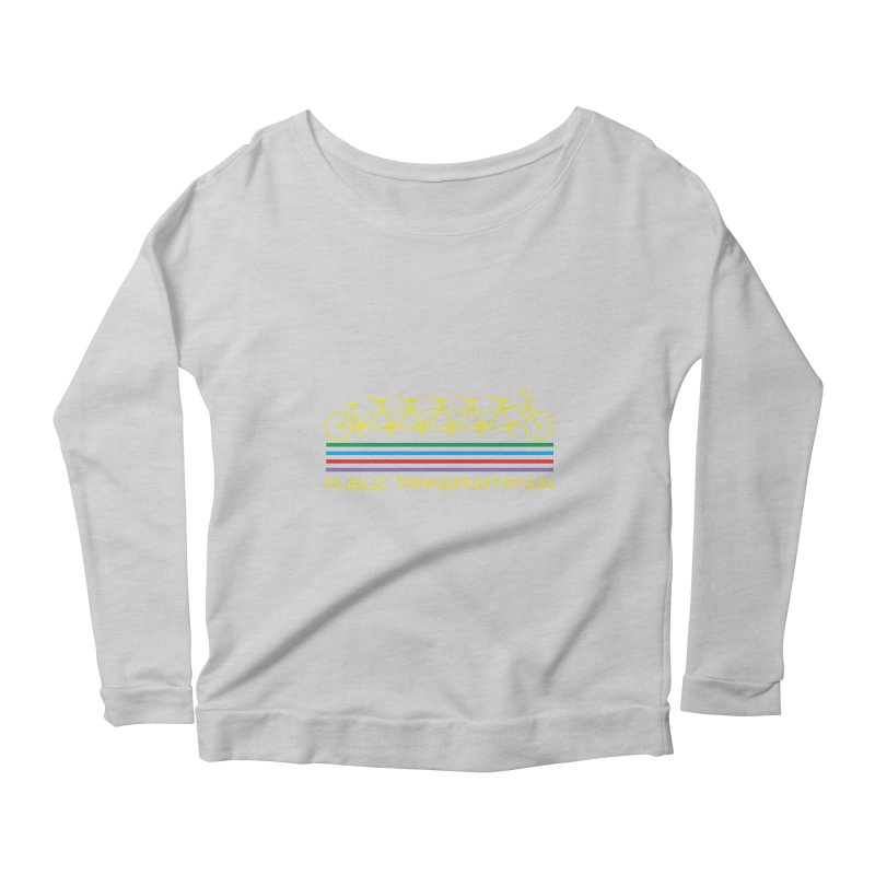 Publik trans Women's Longsleeve Scoopneck  by ronnyroom's Artist Shop
