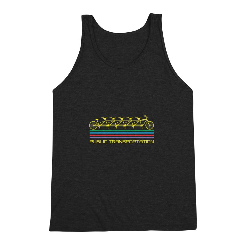 Publik trans Men's Triblend Tank by ronnyroom's Artist Shop