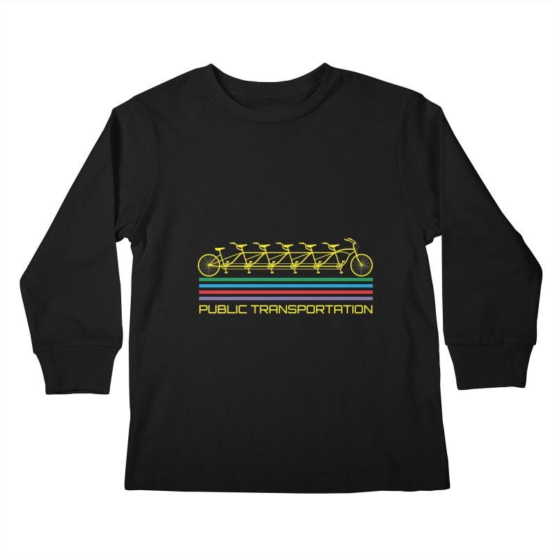 Publik trans Kids Longsleeve T-Shirt by ronnyroom's Artist Shop