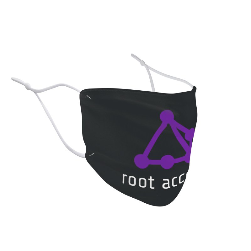 Root Access Accessories Face Mask by Root Access Hackerspace